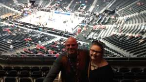 J & A attended Pac-12 Men's Basketball Tournament - Session 1 on Mar 11th 2020 via VetTix