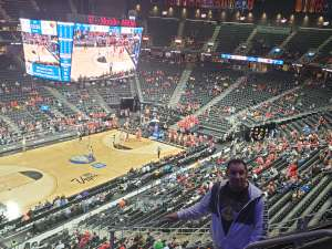 Michael  attended Pac-12 Men's Basketball Tournament - Session 1 on Mar 11th 2020 via VetTix