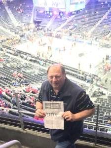 Cor attended Pac-12 Men's Basketball Tournament - Session 1 on Mar 11th 2020 via VetTix
