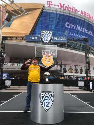 Tony S attended Pac-12 Men's Basketball Tournament - Session 1 on Mar 11th 2020 via VetTix