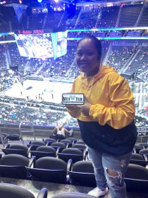 Michelle O. attended Pac-12 Men's Basketball Tournament - Session 2 on Mar 11th 2020 via VetTix