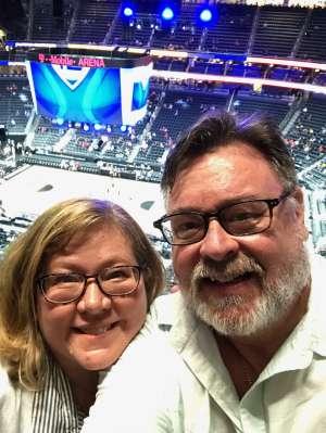 Steve and Kim attended Pac-12 Men's Basketball Tournament - Session 2 on Mar 11th 2020 via VetTix