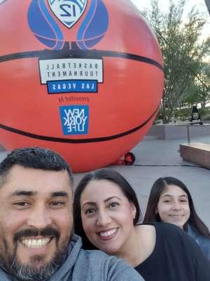 Eddie attended Pac-12 Men's Basketball Tournament - Session 2 on Mar 11th 2020 via VetTix