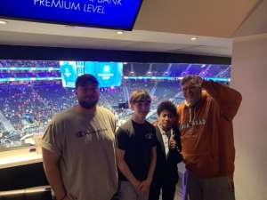 William E Carroll III attended Pac-12 Men's Basketball Tournament - Session 2 on Mar 11th 2020 via VetTix