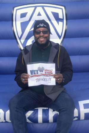Perry Harris attended Pac-12 Men's Basketball Tournament - Session 2 on Mar 11th 2020 via VetTix