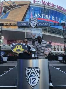 Romona Montgomery attended Pac-12 Men's Basketball Tournament - Session 2 on Mar 11th 2020 via VetTix