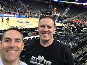 Christopher  attended Pac-12 Men's Basketball Tournament - Session 2 on Mar 11th 2020 via VetTix