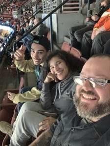 Scott attended Anaheim Ducks vs. Calgary Flames - NHL on Feb 13th 2020 via VetTix