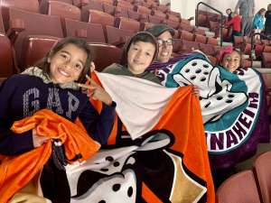 Wilfredo attended Anaheim Ducks vs. Calgary Flames - NHL on Feb 13th 2020 via VetTix