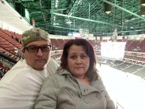 Pat attended Anaheim Ducks vs. Calgary Flames - NHL on Feb 13th 2020 via VetTix