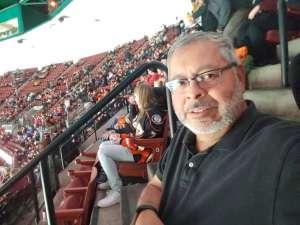 Carlos attended Anaheim Ducks vs. Calgary Flames - NHL on Feb 13th 2020 via VetTix