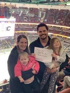 Justin attended Anaheim Ducks vs. Calgary Flames - NHL on Feb 13th 2020 via VetTix
