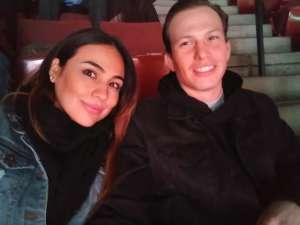 Broderick attended Anaheim Ducks vs. Calgary Flames - NHL on Feb 13th 2020 via VetTix