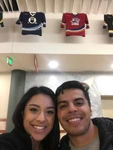 Ryan attended Anaheim Ducks vs. Calgary Flames - NHL on Feb 13th 2020 via VetTix
