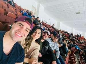 William attended Anaheim Ducks vs. Calgary Flames - NHL on Feb 13th 2020 via VetTix