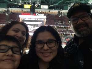 David attended Anaheim Ducks vs. Calgary Flames - NHL on Feb 13th 2020 via VetTix