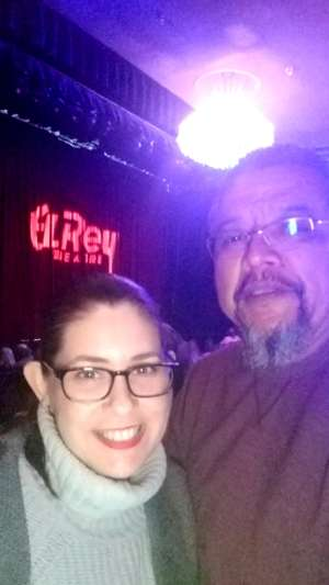 Richard attended Electric Hot Tuna with David Bromberg Quintet on Feb 18th 2020 via VetTix