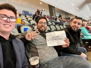 Alvaro attended Tucson Roadrunners vs. San Diego Gulls - AHL on Feb 26th 2020 via VetTix