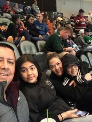 Marco attended Tucson Roadrunners vs. San Diego Gulls - AHL on Feb 26th 2020 via VetTix