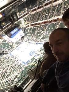 Michael attended Indiana Pacers vs. Milwaukee Bucks on Feb 12th 2020 via VetTix