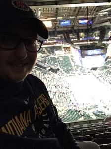 Jacob attended Indiana Pacers vs. Milwaukee Bucks on Feb 12th 2020 via VetTix
