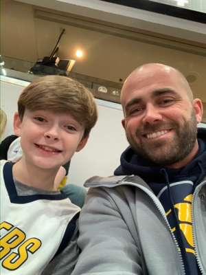 Jeremy attended Indiana Pacers vs. Milwaukee Bucks on Feb 12th 2020 via VetTix