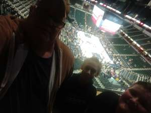 donnie attended Indiana Pacers vs. Milwaukee Bucks on Feb 12th 2020 via VetTix