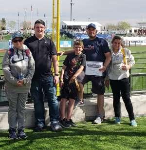 Click To Read More Feedback from Kansas City Royals vs. San Francisco Giants - MLB ** Spring Training ** VIP Experience