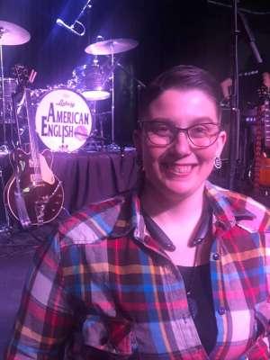 Iris attended American English - Beatles tribute on Feb 22nd 2020 via VetTix