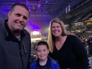 Colt attended Ring of Honor Wrestling on Feb 29th 2020 via VetTix