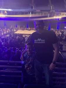 Rick P. attended Ring of Honor Wrestling on Feb 29th 2020 via VetTix