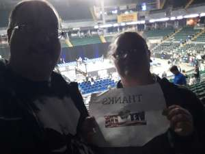 Jeff attended Ring of Honor Wrestling on Feb 29th 2020 via VetTix