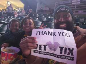 Kevin attended Ring of Honor Wrestling on Feb 29th 2020 via VetTix