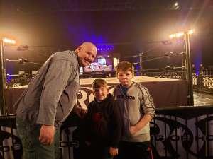 Beverly Rogers attended Ring of Honor Wrestling on Feb 29th 2020 via VetTix