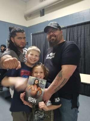 Jake L. attended Ring of Honor Wrestling on Feb 29th 2020 via VetTix