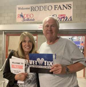 Mike attended 67th Annual Parada Del Sol Rodeo on Mar 5th 2020 via VetTix