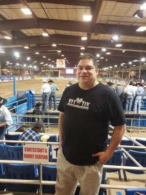 Pete attended 67th Annual Parada Del Sol Rodeo on Mar 5th 2020 via VetTix