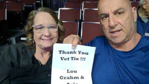 Mo and Dawn attended Lou Gramm With Asia on Feb 29th 2020 via VetTix