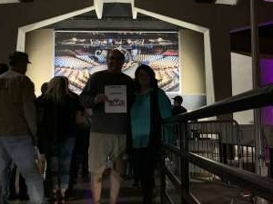 John & Donna attended Lou Gramm With Asia on Feb 29th 2020 via VetTix