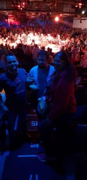John attended Lou Gramm With Asia on Feb 29th 2020 via VetTix