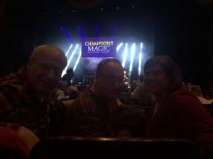 Kenneth attended Champions of Magic - 5 World Class Illusionists 1 Incredible Show on Feb 23rd 2020 via VetTix