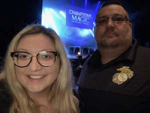 Robert attended Champions of Magic - 5 World Class Illusionists 1 Incredible Show on Feb 23rd 2020 via VetTix