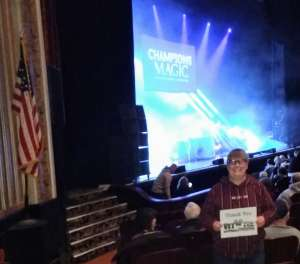 Donna attended Champions of Magic - 5 World Class Illusionists 1 Incredible Show on Feb 23rd 2020 via VetTix
