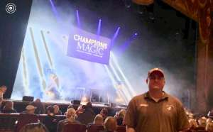 Nathan attended Champions of Magic - 5 World Class Illusionists 1 Incredible Show on Feb 23rd 2020 via VetTix