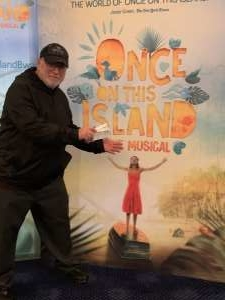 Robert attended Once On This Island The Musical on Feb 19th 2020 via VetTix