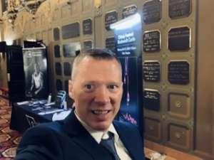 Erik attended Saint Saens Organ Symphony with Cameron Carpenter on Feb 21st 2020 via VetTix