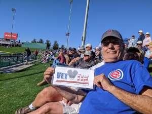 STANLEY attended Chicago Cubs vs. Colorado Rockies - MLB ** Spring Training ** on Feb 25th 2020 via VetTix