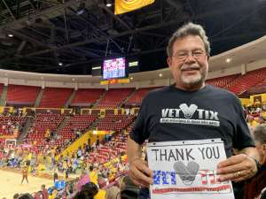 Matt attended Arizona State Sun Devils vs. Stanford - NCAA Women's Basketball on Mar 1st 2020 via VetTix