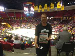 Joannie Laughlin attended Arizona State Sun Devils vs. Stanford - NCAA Women's Basketball on Mar 1st 2020 via VetTix