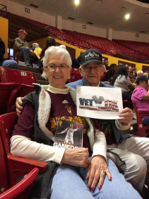 Muriel attended Arizona State Sun Devils vs. Stanford - NCAA Women's Basketball on Mar 1st 2020 via VetTix